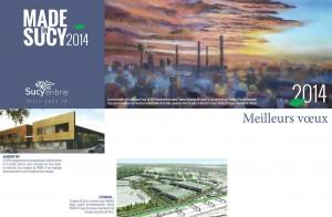 carte voeux pour 2014