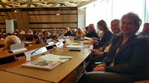 Séance de travail avec mes collègues Marie-Christine Ségui et Richard Dell'Agnola