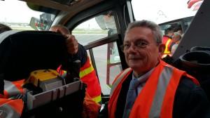 visite du centre de secours de l'aéroport d'Orly avec l'Agence de Développement Paris Val de Marne,11 décembre 2015