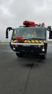 Véhicule d'intervention du centre de secours de l'aéroport d'Orly