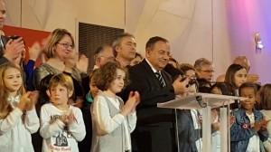 Au Plessis-Trévise, voeux du Maire, Didier Dousset
