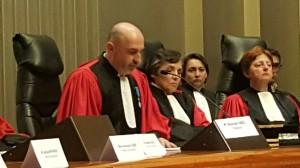 Audience solennelle du TGI  19 janvier 2016 Monsieur Stéphane Noël, nouveau Président du TGI